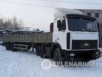 Аренда грузовых автомобилей (длинномеров) грузоподъемность 20 т