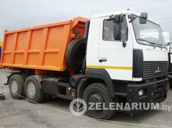 Аренда самосвала 20 тонн МАЗ 5516