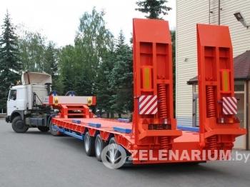 Аренда тралов грузоподъемность 60 тонн 9,5 – 19 метров